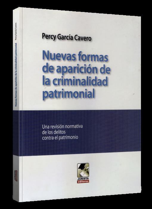 Nuevas formas de aparición de la criminalidad patrimonial