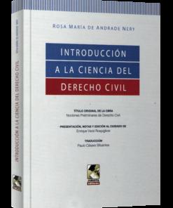 Introducción a la ciencia del derecho civil