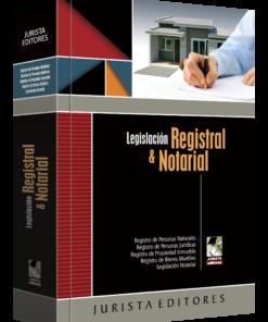 Legislación registral y notarial