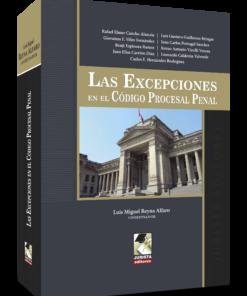 Las excepciones en el código procesal penal