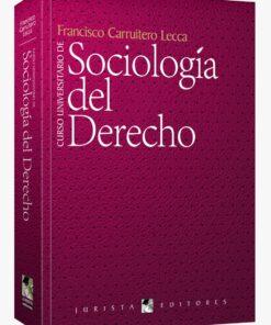 Curso universitario de sociología del derecho