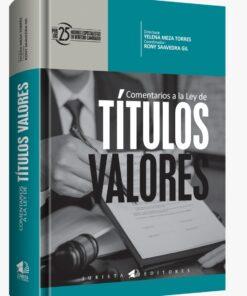 Comentarios a la ley de Títulos Valores